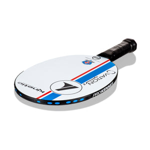 ProKennex Ovation Speed II Pickleball Paddle - White/Blue | PickleballChalet.com