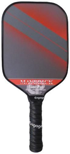 ENGAGE Elite Pro Maverick Composite Pickleball Paddle Red | PickleballChalet.com