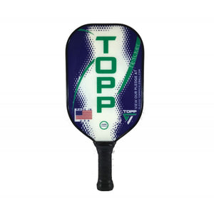 TOPP Reacher Blade Composite Pickleball Paddle Green | PickleballChalet.com