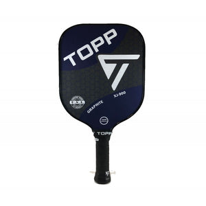 TOPP XJ-900 Graphite Widebody Pickleball Paddle Navy | PickleballChalet.com