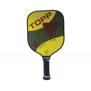 TOPP XJ-900 Graphite Widebody Pickleball Paddle Yellow | PickleballChalet.com