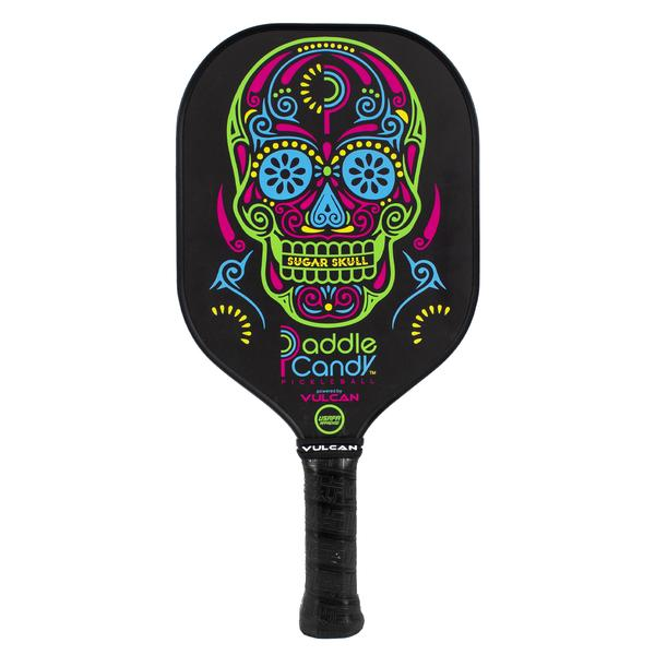 "Vulcan Candy ""Sugar Skull"" Pickleball Paddle"