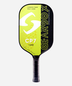 Gearbox CP7 Paddle 7.8 oz Black/Green | PickleballChalet.com