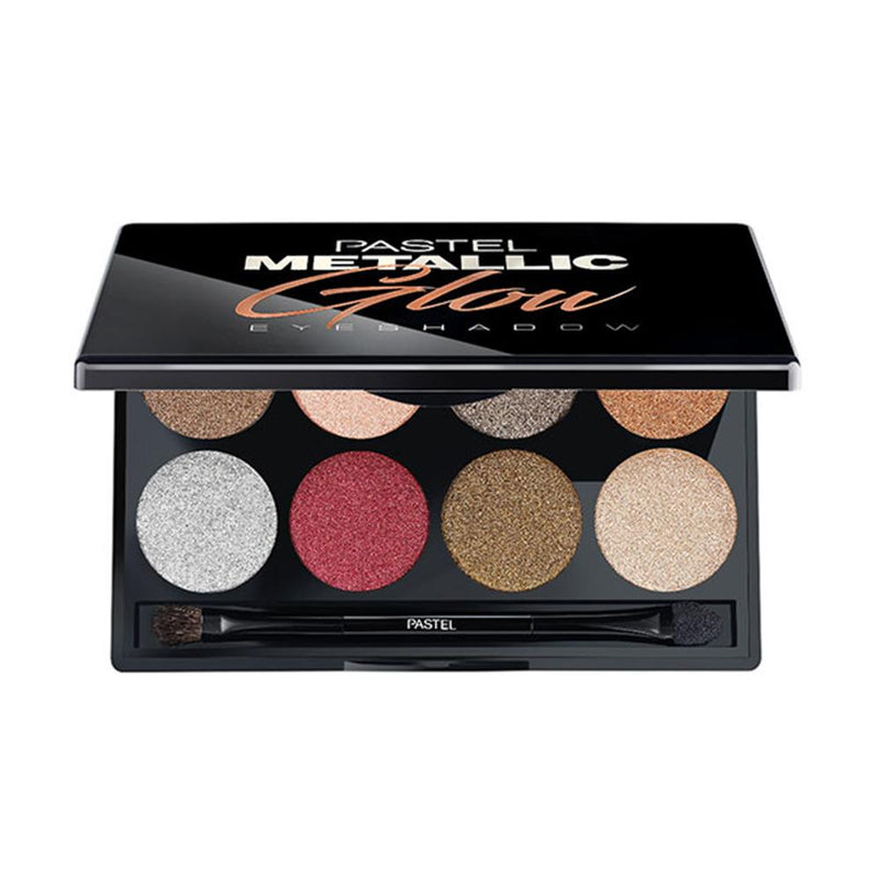 Metallic Glow Eyeshadow Palette Eyeshadow Pastel 468 Metallic Glow Eyeshadow Palette