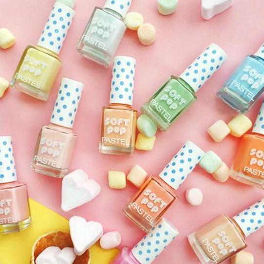 Pastel Soft Pop Nail Polish (13 ml) Nail Polish Pastel