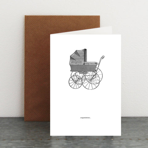 'Baby Congratulations' Card