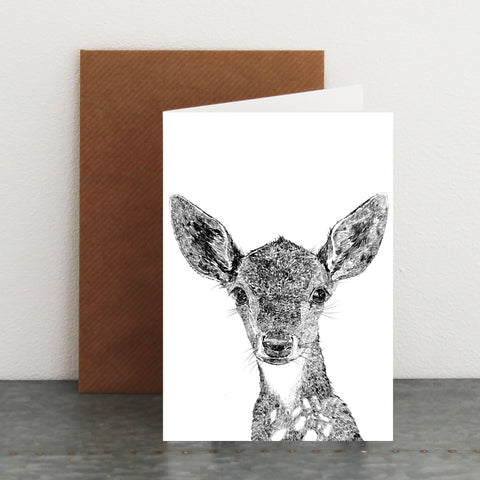 'Darcy The Deer' Card