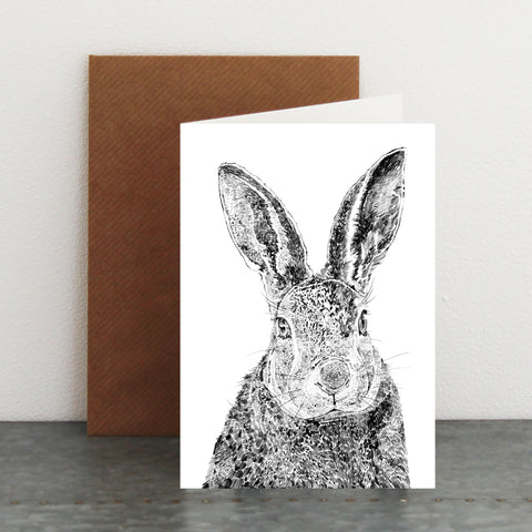 'Hector The Hare' Card