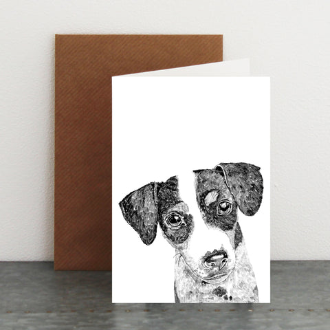 'Ziggy The Jack Russell' Card