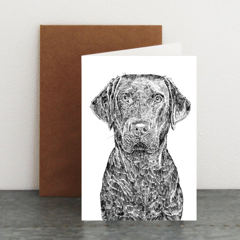 'Max The Labrador' Card