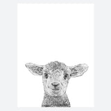 'Laurence The Lamb' Print
