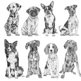 'Mini Dog Collection' Print