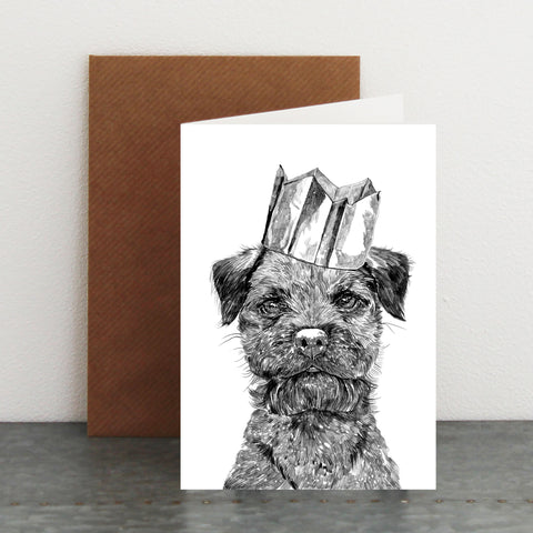 'Celebration Border Terrier' Card