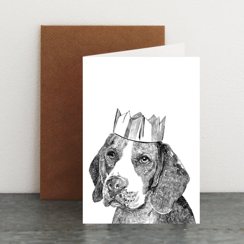 'Celebration Beagle' Card