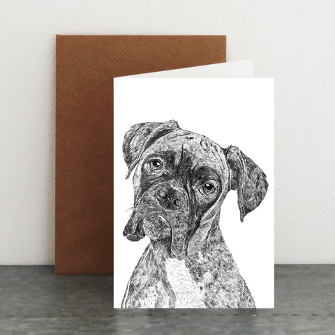 'Rocky The Boxer' Card