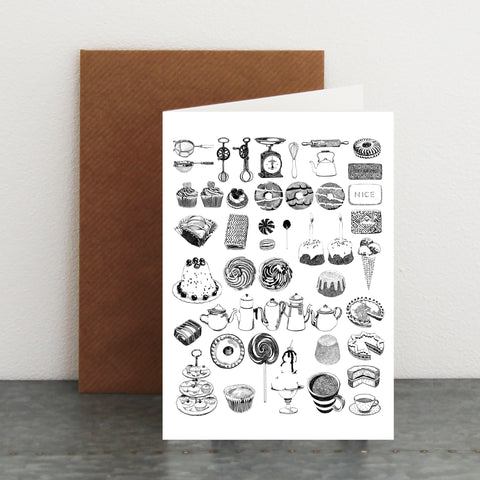 'Cakes & Baking' Card