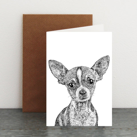 'Dolly The Chihuahua' Card