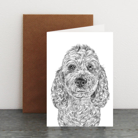 'Bear the Cockapoo' Card
