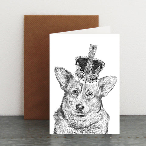 'Royal Corgi' Card