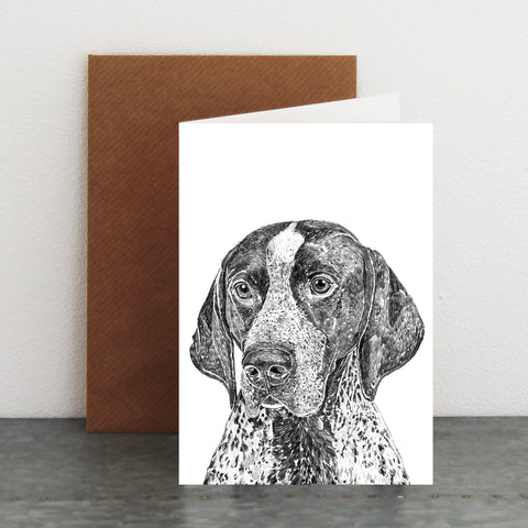 'Napoleon the English Pointer' Card