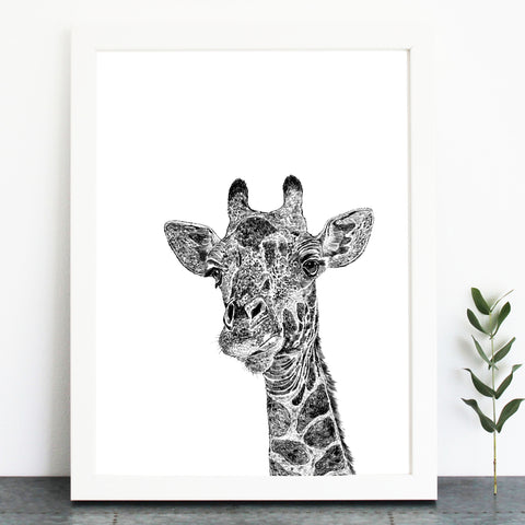 'Parker the Giraffe' Print