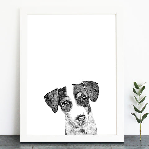 'Ziggy The Jack Russell' Print