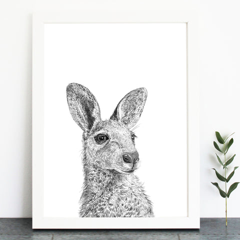 'Kevin The Kangaroo' Print