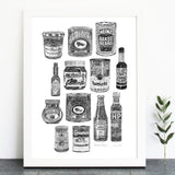 'Kitchen Pantry' Print