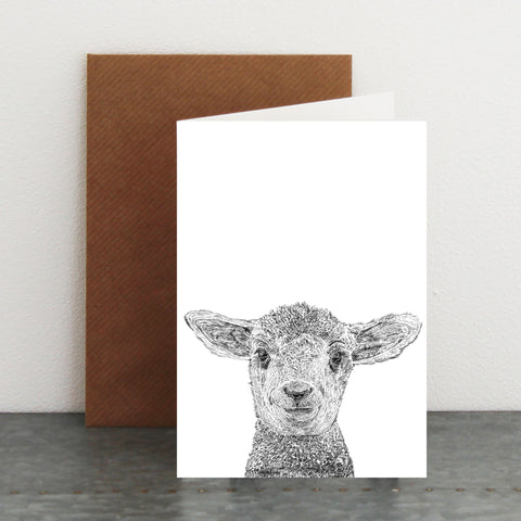 'Lawrence The Lamb' Card