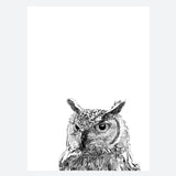 'Kenneth The Owl' Print