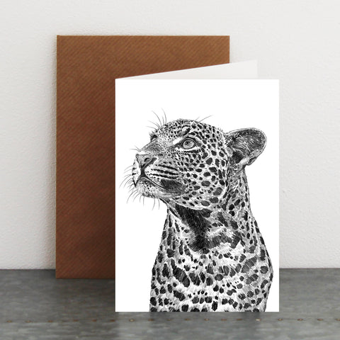 'Reggie the Leopard' Card