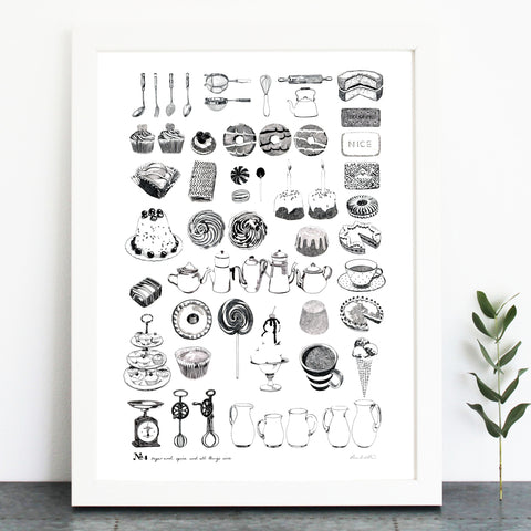 'Sugar And Spice...' Print