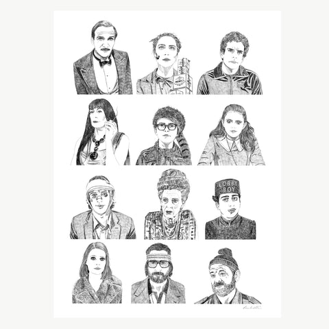 'Wes Anderson Collection' Print