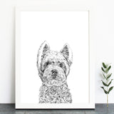 'William The Westie' Print