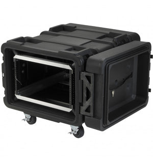 "SKB 24"" DEEP 6U ROTO SHOCK RACK"