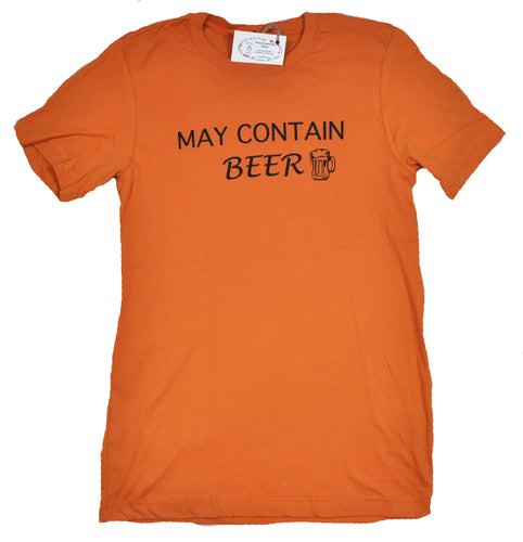 May Contain Beer Tee