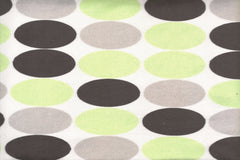 Minky Big Dot - Black/Grey/Lime