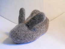 Oui Presse Bunny Slippers in Country Bunny Brown