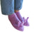 Oui Presse Bunny Slippers in Lilac