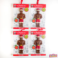 4-Pack Perfect Man Chocolate Ornament