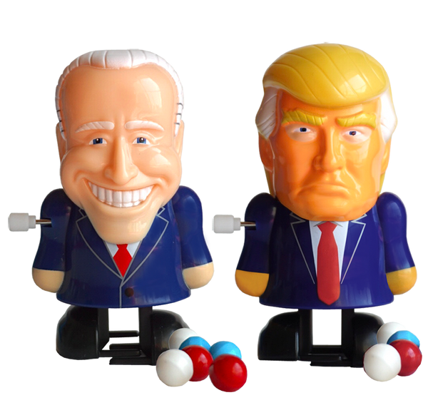 2-Pack Trump and Biden Political Pooper