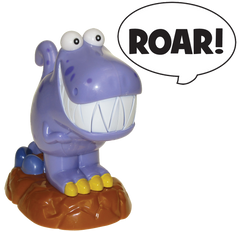 "Dinosaur ""Roaring"" Candy Dispenser <br /> - Purple"