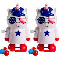 2-Pack Patriotic Unicorn Pooper