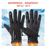 [70% OFF NOW & BUY 2 FREE SHIPPING] Unisex Premium Water Proof Touch Screen Winter Gloves
