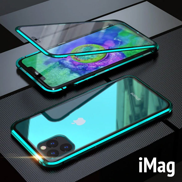 iMag - Magnetic Adsorption Metal Case for iPhone