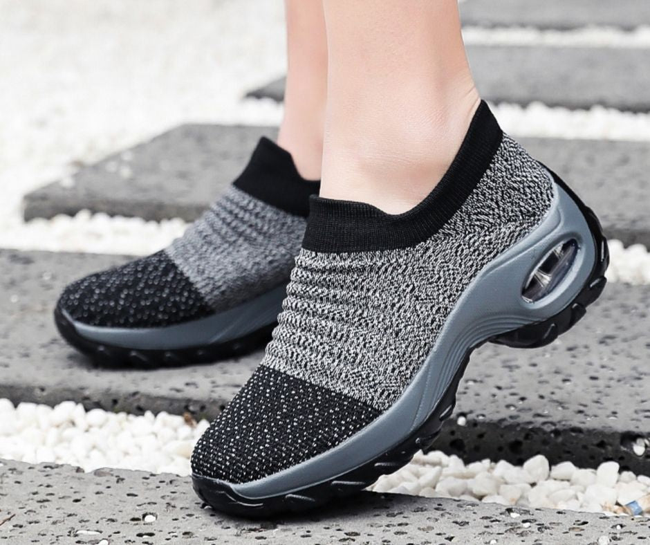 COMFY WALK: Women's Breathable Air Cushion Sneakers (BUY 2 FREESHIPPING)