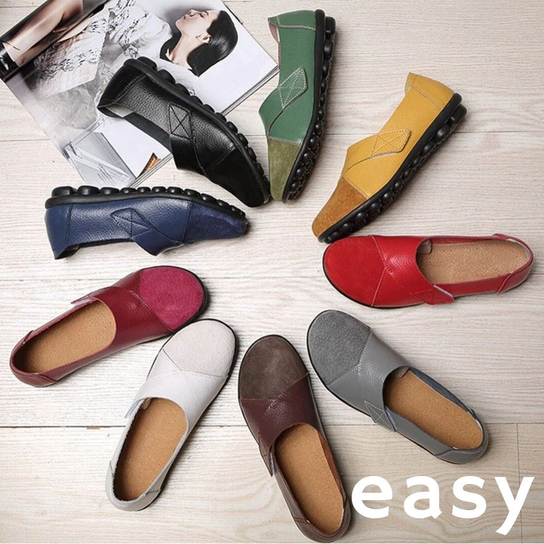 EASY Premium Orthopaedic Leather Loafer Shoe