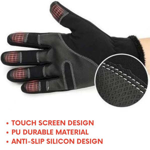 [70% OFF NOW] Unisex Premium Water Proof Touch Screen Winter Gloves
