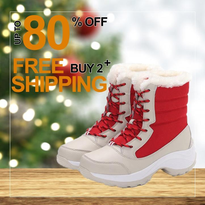 [50% OFF TODAY] Waterproof  Winter Warm Snow Fur Boot
