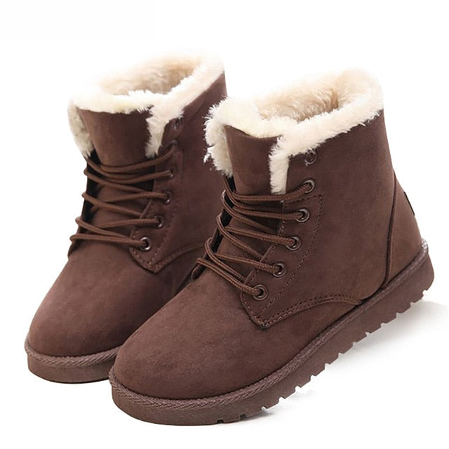 Women Boots 2019 Fashion Snow Boots Women Shoes New Women Winter Boots Warm Fur Ankle Boots For Women Winter Shoes Botas Mujer